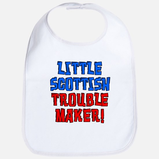 Little Scottish Trouble Maker Bib