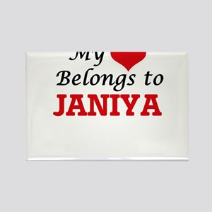My heart belongs to Janiya Magnets