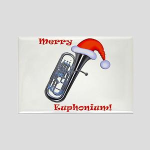 Merry Euphonium! Rectangle Magnet