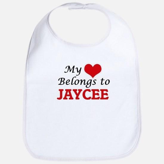 My heart belongs to Jaycee Bib