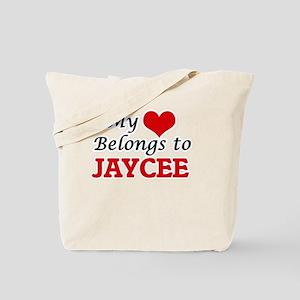 My heart belongs to Jaycee Tote Bag