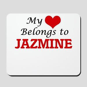 My heart belongs to Jazmine Mousepad