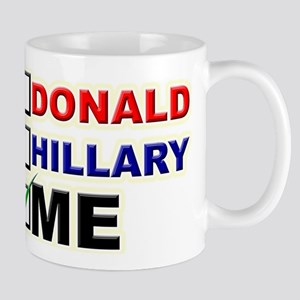 Donald, Hillary, or You? Mugs