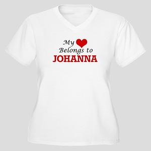 My heart belongs to Johanna Plus Size T-Shirt