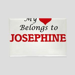 My heart belongs to Josephine Magnets