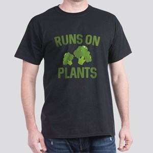 Runs On Plants Dark T-Shirt
