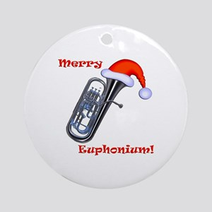 Merry Euphonium! Ornament (Round)