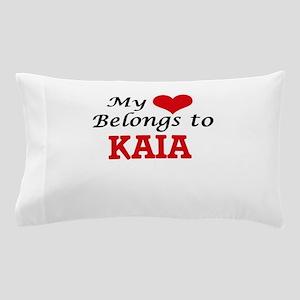 My heart belongs to Kaia Pillow Case