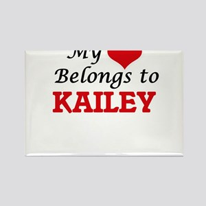 My heart belongs to Kailey Magnets