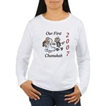 Our First Chanukah 2007 Women's Long Sleeve T-Shir