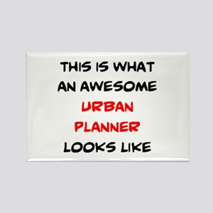 awesome urban planner Rectangle Magnet
