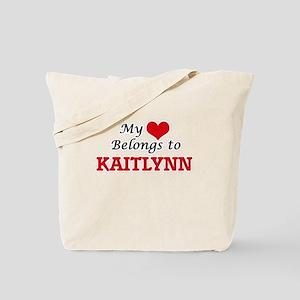 My heart belongs to Kaitlynn Tote Bag