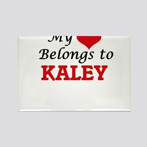 My heart belongs to Kaley Magnets