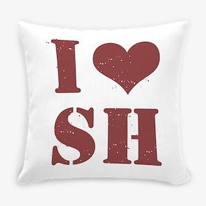 I Love Seminole Heights Everyday Pillow