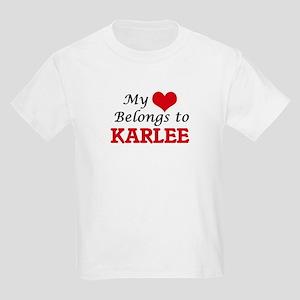 My heart belongs to Karlee T-Shirt