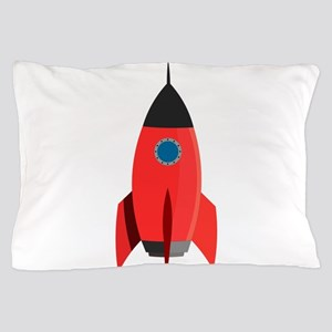 Red Rocket Pillow Case