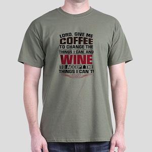 Coffee and Wine Dark T-Shirt