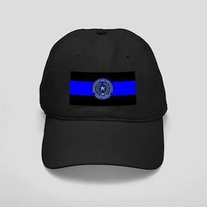 TDCJ Thin Blue Line Black Cap
