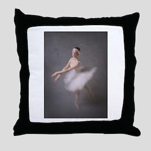 Degas Dancer Throw Pillow