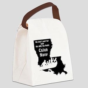 Louisiana Cajun Navy Rescue Canvas Lunch Bag