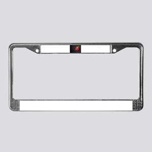 Wilted Rose License Plate Frame