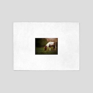 Pasture Pony 5'x7'Area Rug