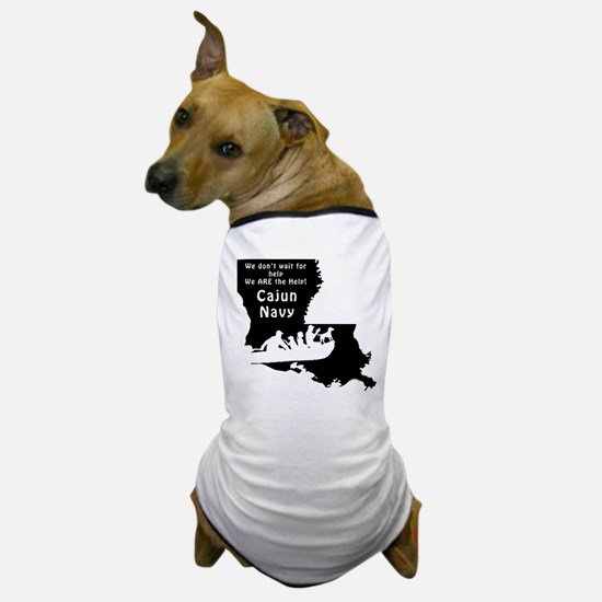 Louisiana Cajun Navy Rescue Dog T-Shirt
