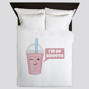 I'm So Smooth Queen Duvet