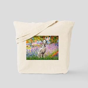 Garden / Dalmation Tote Bag
