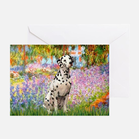 Garden / Dalmation Greeting Cards (Pk of 20)