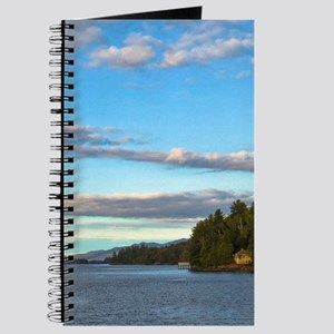 lakeside mountain view Journal