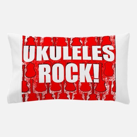 Ukuleles Rock Pillow Case
