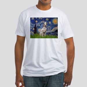 Starry /Dalmatian Fitted T-Shirt