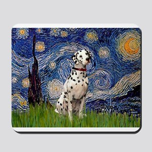 Starry /Dalmatian Mousepad