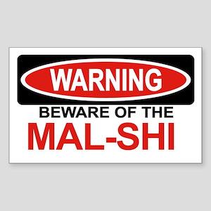 MAL-SHI Rectangle Sticker