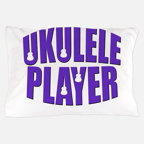Ukulele Player Pillow Case