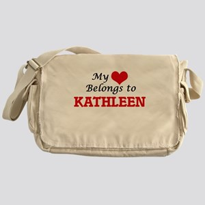 My heart belongs to Kathleen Messenger Bag