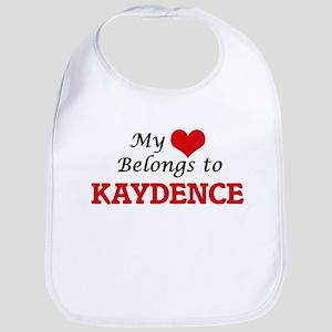 My heart belongs to Kaydence Bib