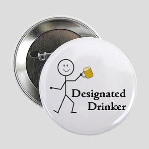 "Designated Drinker 2.25"" Button"