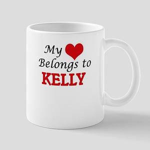 My heart belongs to Kelly Mugs