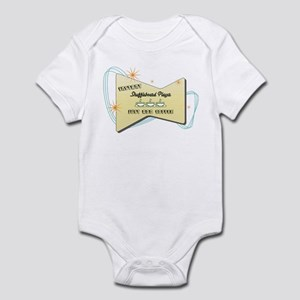 Instant Shuffleboard Player Infant Bodysuit