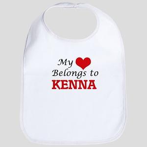 My heart belongs to Kenna Bib
