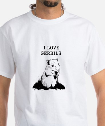 I Love Gerbils T-Shirt