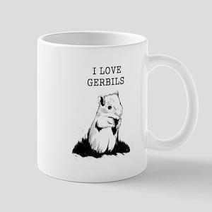 I Love Gerbils Mugs