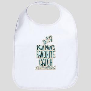 Paw Paw's Favorite Catch Baby Bib