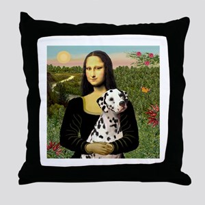 Mona / Dalmation Throw Pillow