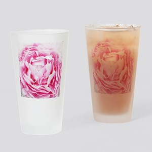chic pastel pink peony Drinking Glass