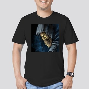 Grim Reaper Men's Fitted T-Shirt (dark)