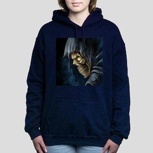 Grim Reaper Women's Hooded Sweatshirt