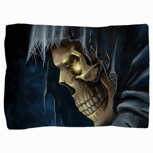 Grim Reaper Pillow Sham